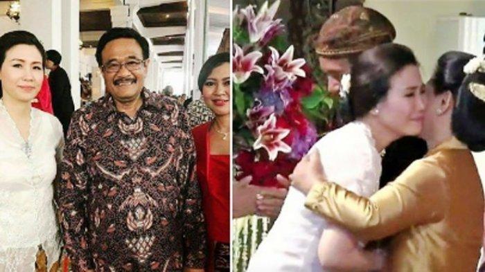 Ditemani Jarot Ke Pernikahan Kahiyang-Bobby, Veronica Tan Menangis Dipelukan Iriana