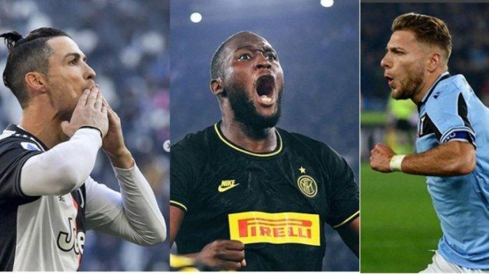Peta Juara antara Juventus, Lazio dan Inter Milan- Inilah Jadwal Lengkap Tiga Tim Kandidat Juara