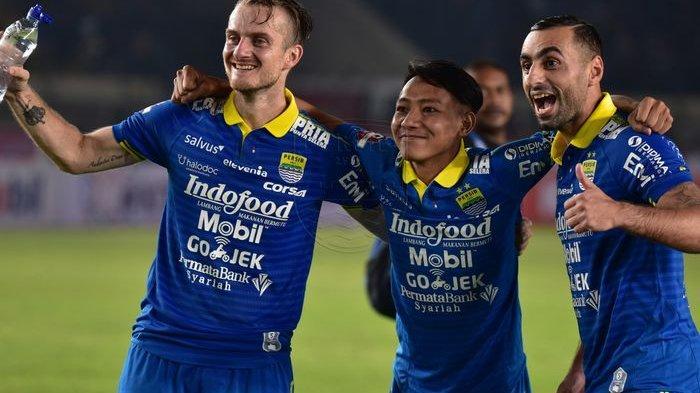 NAMA Pemain Termuda dan Tertua Persib Bandung yang Masih Aktif Main di Liga 1