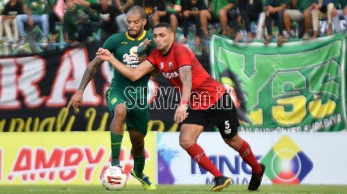 Persija vs Persebaya Liga 1 2020 David da Silva Waspada 3 Pemain Macan Kemayoran