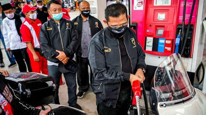 Seminggu Softlaunching Pertamax Turbo di Pangkalpinang Angka Penjualan Terus Naik