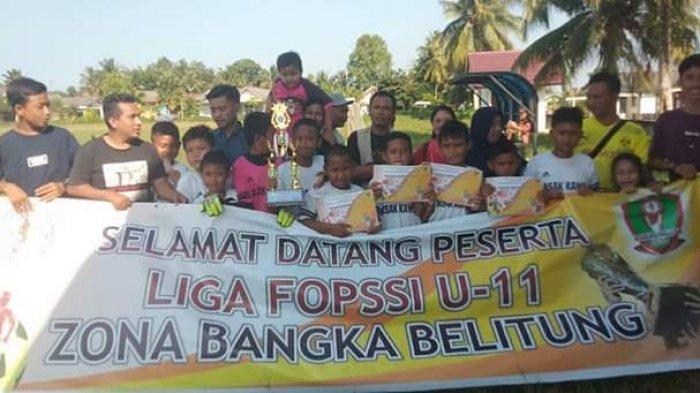 Dua Tim SSB Lolos Seleksi Wakili Babel di Yogjakarta