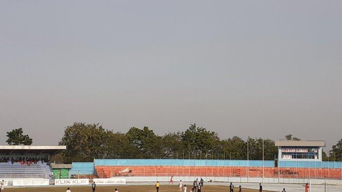 PSPS Riau Bobol Gawang Babel United FC Pada Menit ke 11