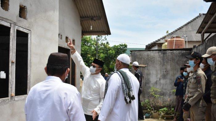 Warga Air Kepala Tujuh Antusias Sambut Kedatangan Gubernur Bangka Belitung Erzaldi Rosman