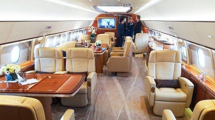 Artis hingga Presiden Miliki Pesawat Paling Mewah di Dunia