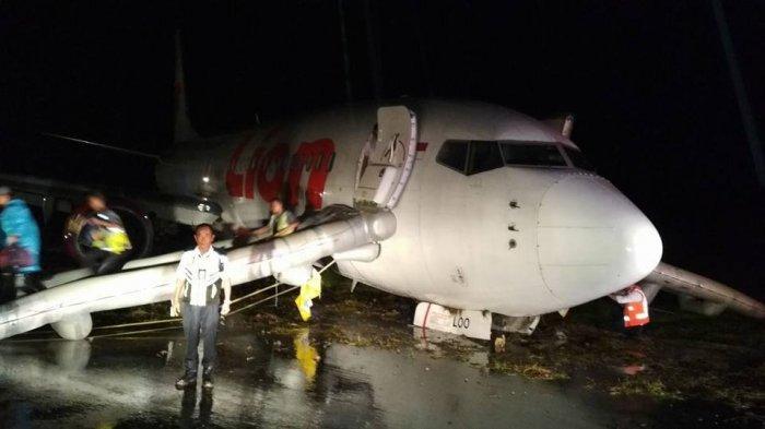 Begini Kondisi Mencekam saat Pesawat Lion Air Tergelincir di Gorontalo, Lihat Videonya!
