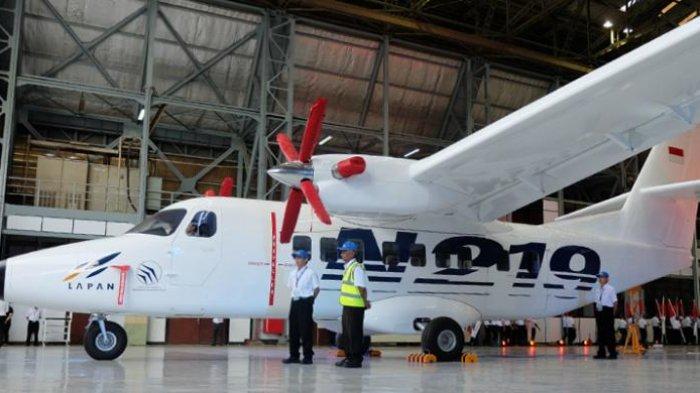 Uji Coba Pesawat Buatan Anak Bangsa Ditunda, Pangsa Pasar Bakal Direbut China