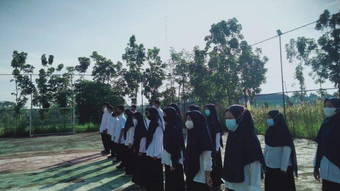 UKK KSR PMI Unit IAIN SAS Bangka Belitung Gelar Kegiatan Pengambilan Slayer Diikuti 23 Peserta