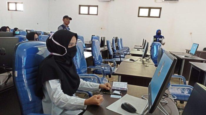 Peserta Seleksi CPNS 2019 di Kabupaten Bangka Selata.(Bangkapos.com/Jhoni Kurniawan)