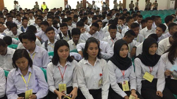 1.361 Orang Perebutkan 207 Kuota Masuk Polri di Bangka Belitung