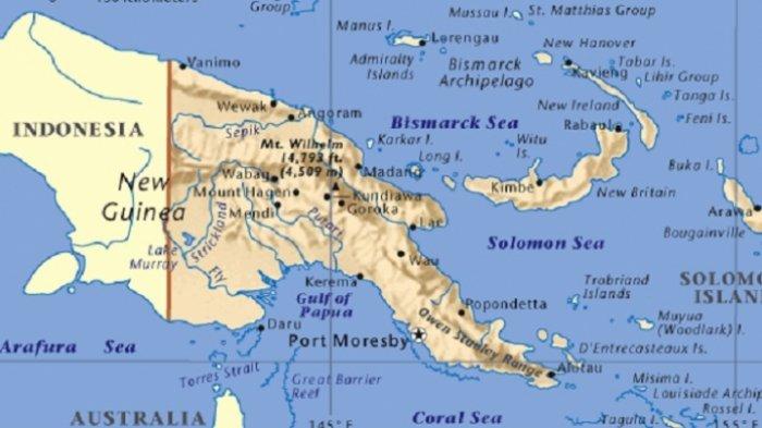 Ini Alasan Indonesia Tak Berani Sentuh Papua Nugini, Padahal Satu Daratan dengan Papua
