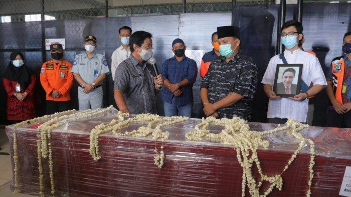 Jenazah Yulian Andika, Korban Sriwijaya SJ 182 Tiba di Pangkalpinang
