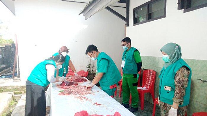 Begini Hasil Pemeriksaan Daging Kurban Dinas Pangan Dan Pertanian Bangka
