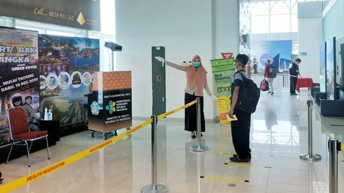Awasi Suhu Penumpang di Bandara, KKP Pasang 2 Thermal Scanner Baru di Pualu Bangka dan Belitung