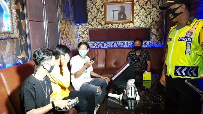 Polisi Sasar THM dan Tempat Nongkrong, Amankan 4 Pemuda Sedang Pesta Arak di Sekitar Ramayana