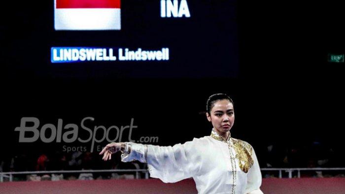 Wushu Asian Games 2018: Lindswell Kwok Persembahkan Medali Emas Kedua untuk Indonesia