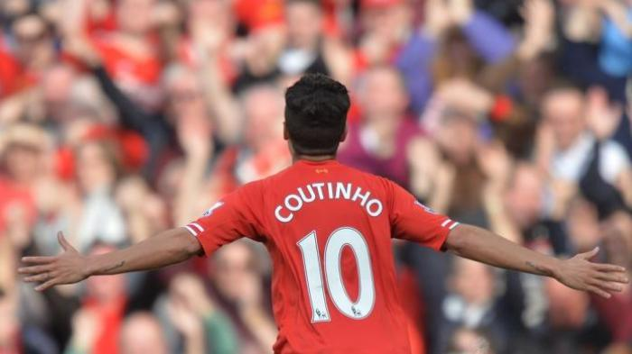 Kecoh Pemain Chelsea, Coutinho Bawa Liverpool Unggul 2-1