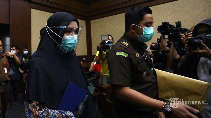 Hakim Sebut Jaksa Pinangki 'Markus', Vonis Pinangki Diperberat Jadi 10 Tahun Penjara, Ini Alasannya