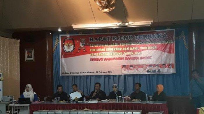 Hasil Pleno KPU Babar Tidak Ada yang Protes