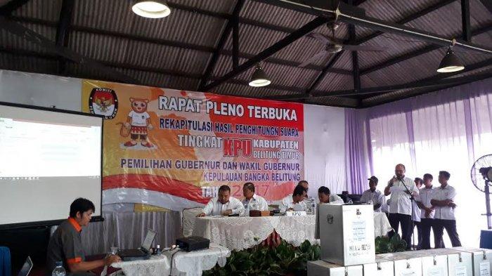 PPK Simpang Renggiang Ungkap di Pleno Ada Kejadian Khusus Saat Rekapitulasi