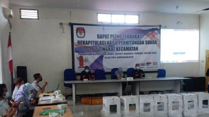 Hasil Pleno PPK Simpang Katis Selesai, Pasangan Algafry Rahman dan Herry Erfian Raih 7.874 Suara
