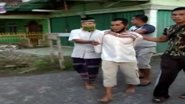 Pelaku pembacokan M Arif, ketua imam Masjid Nurul Iman, Kelurahan Tanjung Rancing, Kecamatan Kayuagung, OKI.