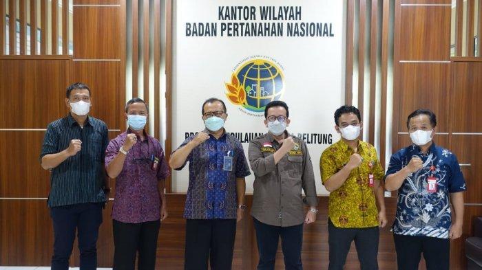 Percepat Pengamanan Aset, PLN Tingkatkan Sinergi dengan BPN Provinsi Bangka Belitung