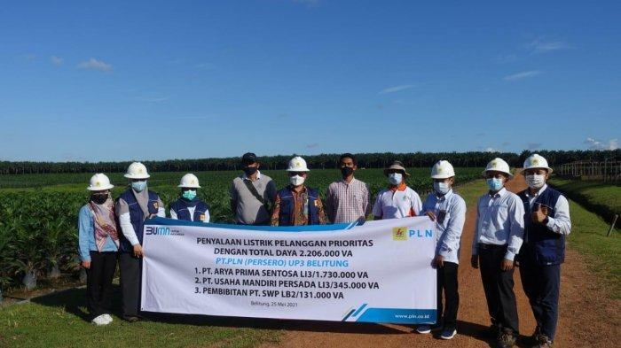 PLN Pasang Listrik 2 Juta VA di Belitung