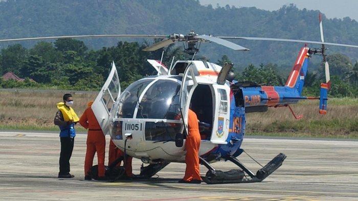PLN dan Polda Babel Bersinergi Angkut Material Pembangkit Gunakan Helikopter