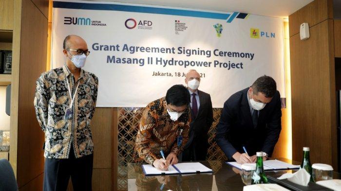 PLN Raih Hibah 1,2 JutaEurodari AFD untuk Bangun PLTA Masang II di Sumatera Barat