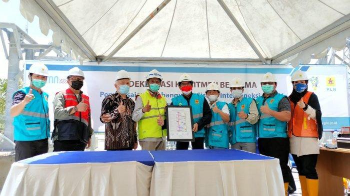 PT PLN UIP Sumbagsel Deklarasi Pembangunan Interkoneksi 150 kV Sumatera-Bangka