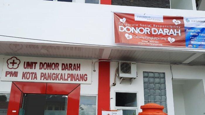 Gedung Palang Merah Indonesia (PMI) Unit Kota Pangkalpinang