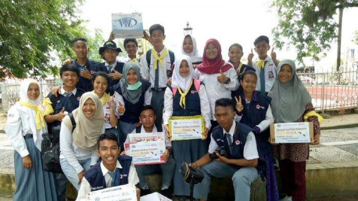 PMI Bateng Bantu Korban Gempa Aceh