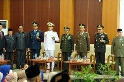 Kapolda Hadiri dan Berikan Ucapan Selamat Atas Pelantikan Anggota DPRD Prov. Kepulauan Babel