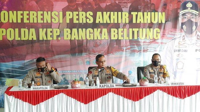 Maraknya Penyelundupan via Bangka Belitung Pada 2020, Miras Ilegal, Timah, hingga Ratusan Kilo Sabu