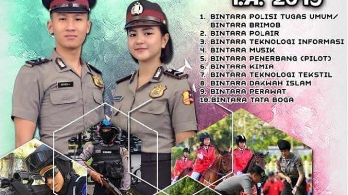 Penerimaan Akpol, Tamtama dan Bintara, Ini Persyaratan dan Cara Daftar Anggota Polri 2019