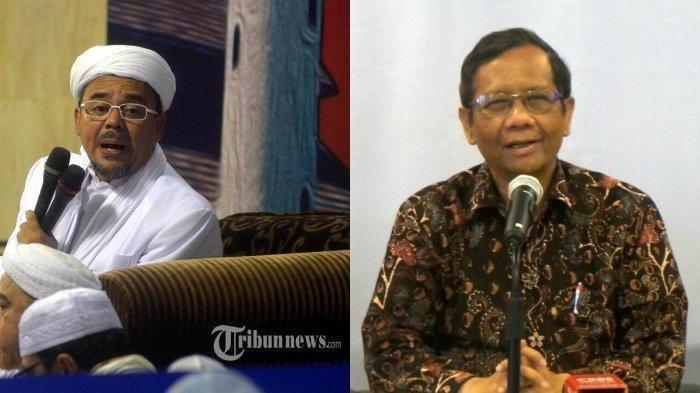 Pencekalan Rizieq Shihab, Pengacara Pimpinan FPI Kirim Bukti Foto Surat Pencekalan ke Mahfud MD