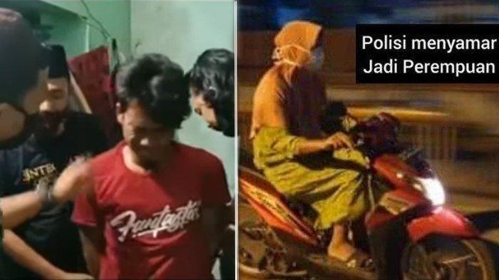 Aksi Viral dan Unik Polisi Tangkap Penjahat, Pakai Daster hingga Nyanyi Happy Birthday To You