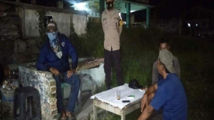 Patroli Polsek Belinyu Ajak Masyarakat Patuhi Prokes 3M dan Antisipasi Tindakan 3C