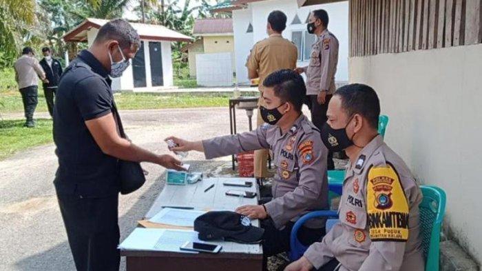Kasus Covid-19 Melonjak, Kapolsek Kelapa Gagas Perlu Ada Tempat Isolasi Mandiri di Tiap Desa