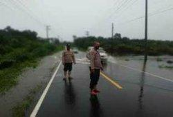 Polsek Kelapa Imbau Masyarakat Berhati-hati Saat Melintasi Jalan Raya Muntok- Pangkalpinang