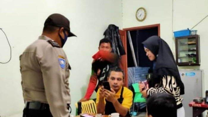 Polsek Sungailiat Catat Nama Warga Tidak Kenakan Masker, Jika Melanggar Lagi Terancam Sanksi Sosial