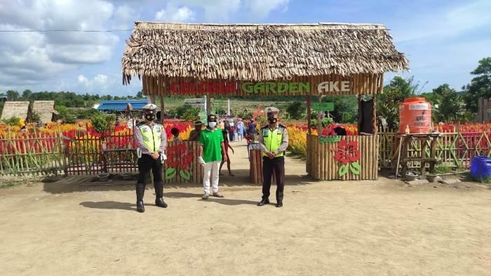 Satlantas Polres Bangka pada masa libur panjang melaksanakan kegiatan Patroli Wisata sekaligus Giat Preemptif Ops Zebra Menumbing 2020 ke beberapa lokasi wisata yang ada di Kota Sungailiat Kabupaten Bangka.