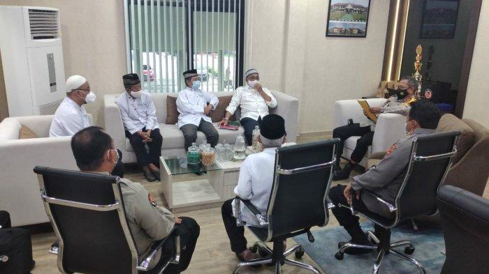 Kapolda Kepulauan Bangka Belitung Sambut Kunjungan Silaturahmi Pengurus Masjid Al-Hidayah