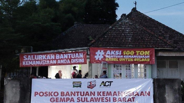 Aktivasi Posko Kemanusian Bantuan untuk Korban Bencana di Sulbar, ACT Babel Ajak Selamatkan Bangsa
