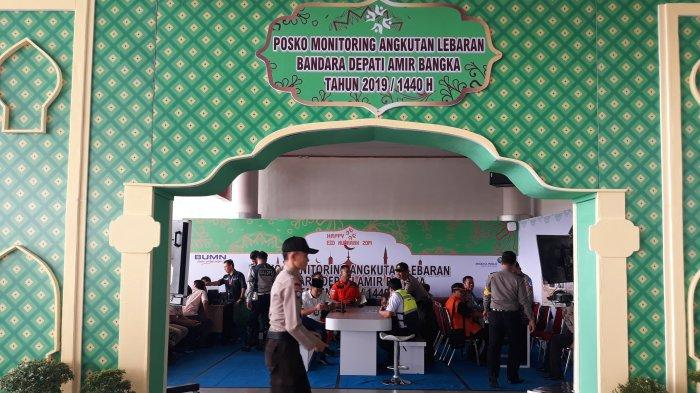 PT AP II Siapkan Posko Lebaran di Bandara Depati Amir