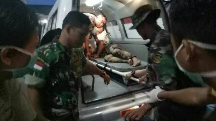 Baku Tembak Dua Teroris Tewas Satu Prajurit TNI Dirawat Intensif