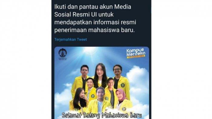 Poster Sambutan Maba UI Ramai Digunjing, Pria ini Malah Revisi Kesalahan Design