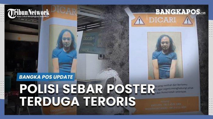Densus 88 Sebar Foto Terduga Teroris Agus Setianto, Kejar di Hutan Tanjung Bunga