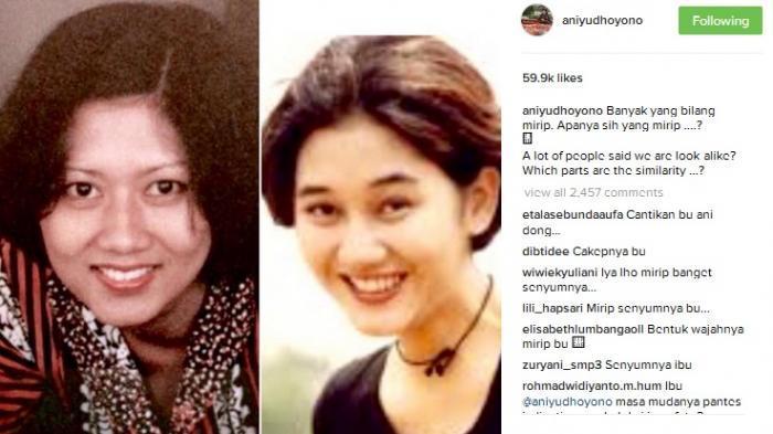 Netter Sampai Lakukan Hal Ini soal Heboh Ani Yudhoyono Mirip Nike Ardilla